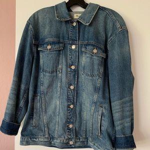 Madewell Oversize Denim Jacket Size Large